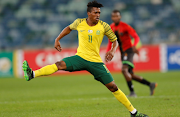 Luther Singh of South Africa during the COSAFA Cup, Plate final match between South Africa and Malawi at Moses Mabhida Stadium on June 07 2019 in Durban, South Africa.
