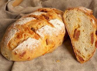 PEPPERONI BREAD - NO KNEAD