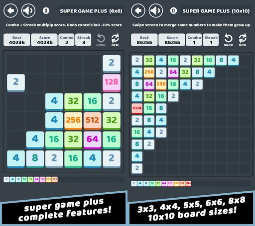 Télécharger Super Game Plus - Numbers Merge Puzzle  APK MOD (Astuce) screenshots 1