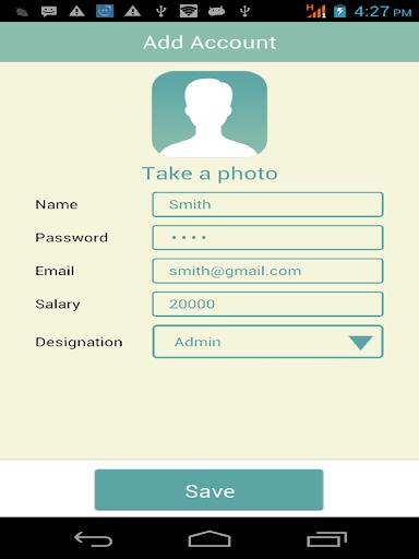 Easy Attendance Register App Report on Mobile Action - App Store