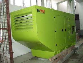Photo: Generator Volvo 358 kVA, Hotel Central Ploiesti, Prahova