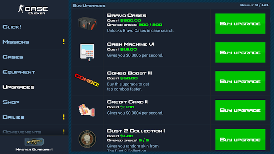 Case Clicker- screenshot thumbnail