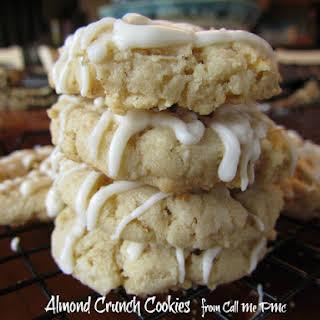 Almond Crunch Cookies.
