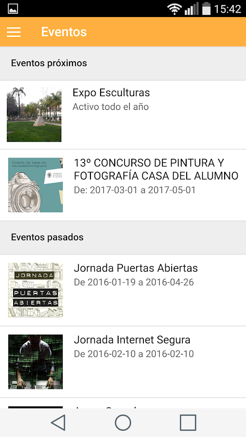 Vive el Campus- screenshot