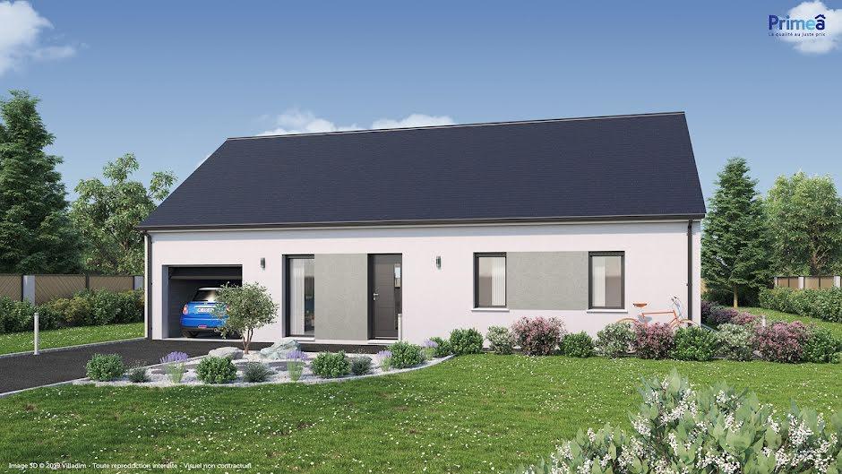 Vente maison 5 pièces 91 m² à Ambillou (37340), 151 864 €