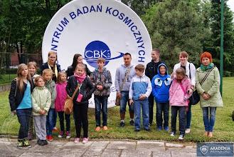 Photo: Wycieczka do Centrum Badań Kosmicznych w Warszawie (Akademia Przyszłości)