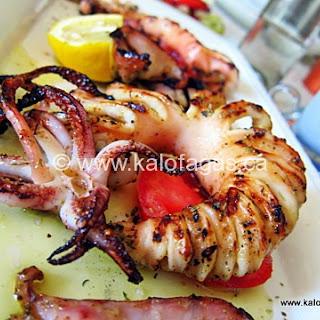Grilled Calamari and Cumin Recipe