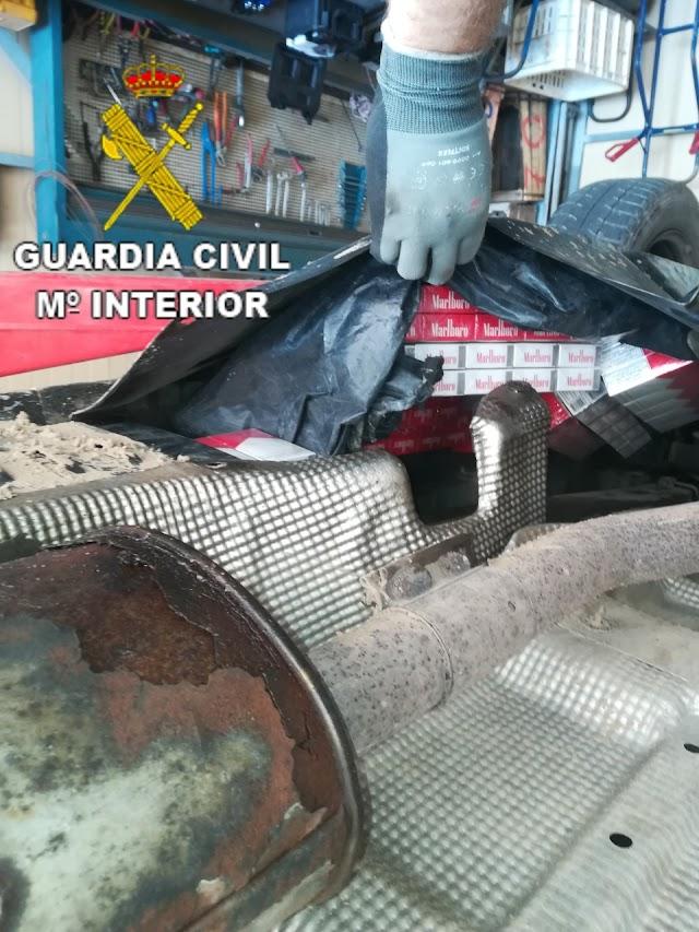 Se ha localizado en los controles rutinarios del Puerto de Almería.