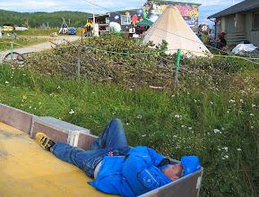 Photo: hvile mellom slaga