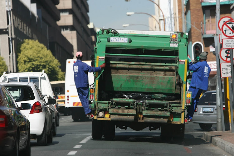 City of Johannesburg Mayor Herman Mashaba is considering making communities pick up their own trash.