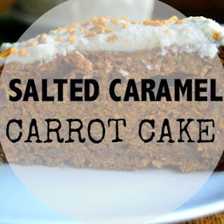 Salted Caramel Carrot Cake