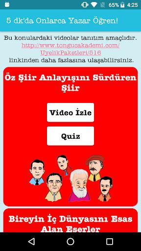 Tonguc Akademi YKS (2. Oturum) Edebiyat screenshot