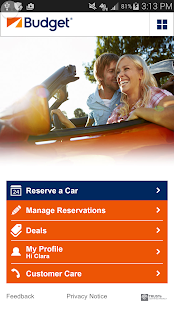 Budget Car Rental- screenshot thumbnail