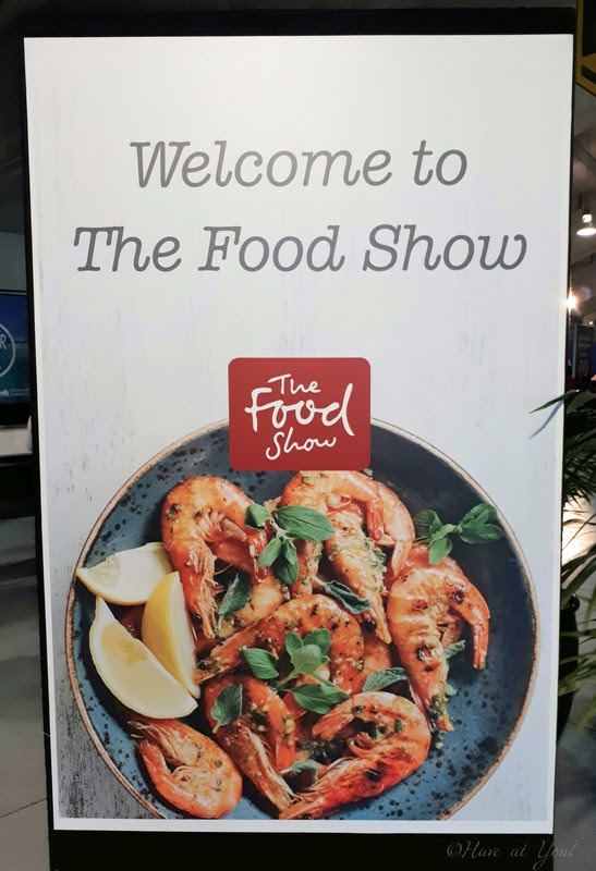 one of the banners by the entrance of The Food Show NZ