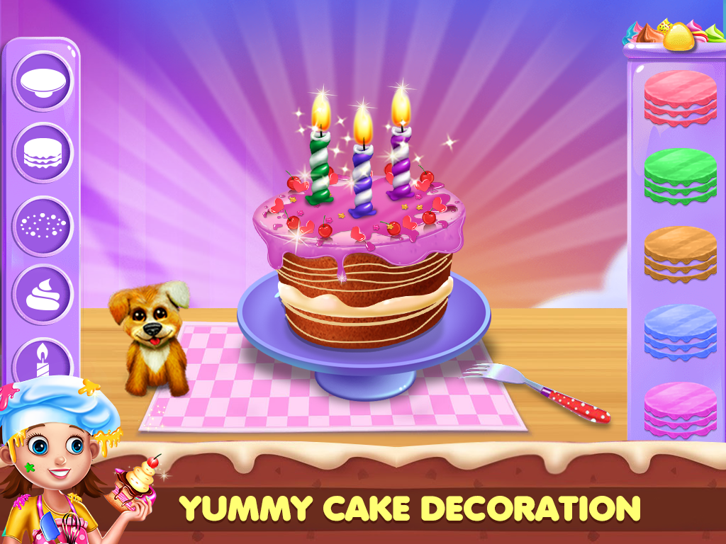 Real Cake Maker For Fun Cooking Game Izinhlelo Ze Android Ku