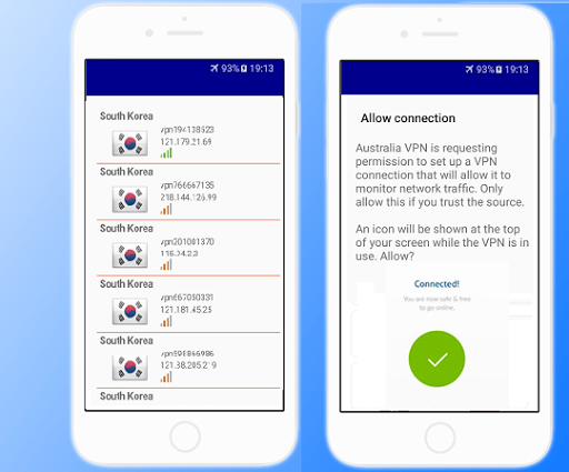 Korea VPN Free - Unlimited & Fast Security Proxy 1.9 screenshots 1