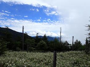 雲に覆われ始め
