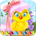 Easter Egg Coloring Book World icon