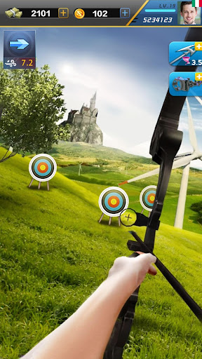 Download Elite Archer-Fun free target shooting archery game MOD APK 3