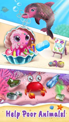 Sweet Baby Girl Mermaid Life - Magical Ocean World 4.0.1 screenshots 5