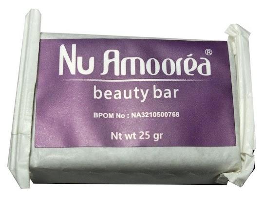 Sabun Beauty Bar NUAMOOREA 25gr nu amorea amoorea amoera 25 gr sabun batang memutihkan kulit wajah bersih