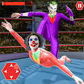 Real Killer Clown Ring Fighting icon