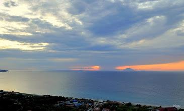 Photo: Zambrone e arcipelago isole Eolie.