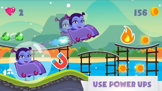 Princess Vampirena Adventure Jungle running - náhled