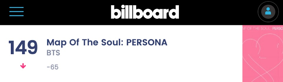 bts album billboard 200 2