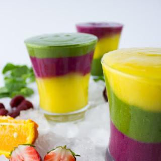 Rainbow Fruit Smoothie Recipes.