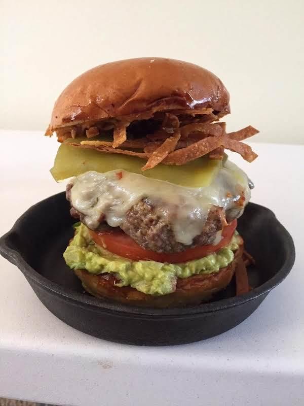 Macho Hombre Burger Recipe