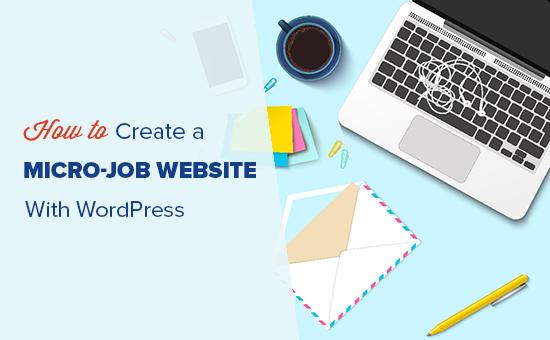 Tạo một fiverr như trang web vi công việc với WordPress