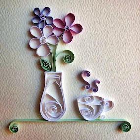 GooD mOrniNG....!!! by Pratik Nandy - Abstract Fine Art