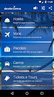 Screenshot of Decolar.com Hotéis e Voos