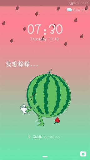 Melons - iDO Lockscreen