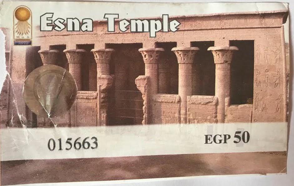Esna entry ticket