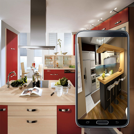 Kitchen design 2016 3 0 apk free lifestyle application for Kitchen design app