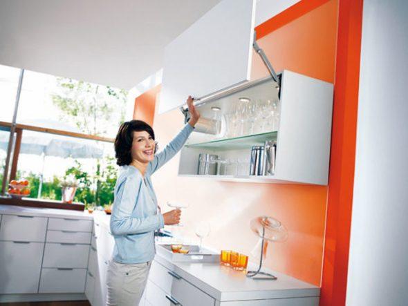 Удобство использования кухонной мебели