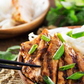 Ginger Lemongrass Teriyaki Grilled Chicken #Recipe