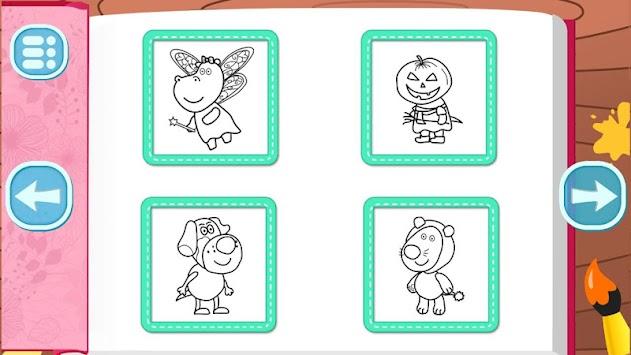 Kids Games Coloring Book APK Screenshot Thumbnail 4