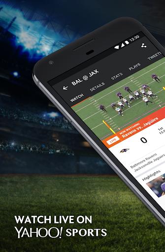 Yahoo Sports Screenshot