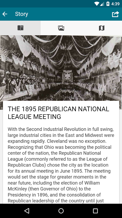 Cleveland Historical 2.0- screenshot
