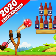 Bottle Shooting Game - Knock Down & Flip