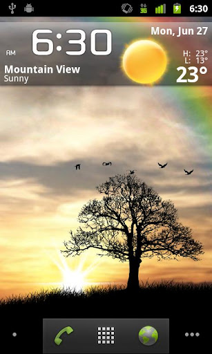 Sun Rise Free Live Wallpaper screenshot 3