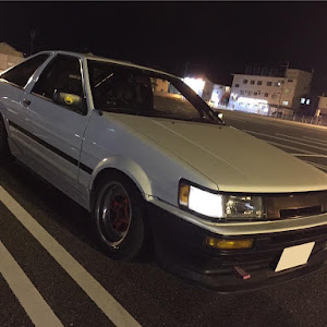 カローラレビン AE86 GTAPEX 昭和61年式のカスタム事例画像 あっきーさんの2018年09月12日05:28の投稿