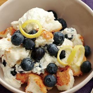 Blueberry Angel Cake Dessert Recipes