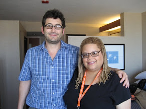 Photo: Sam Seder interviewed me for Air America in 2008.