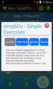 simpliFITy - 5 min to health- screenshot thumbnail