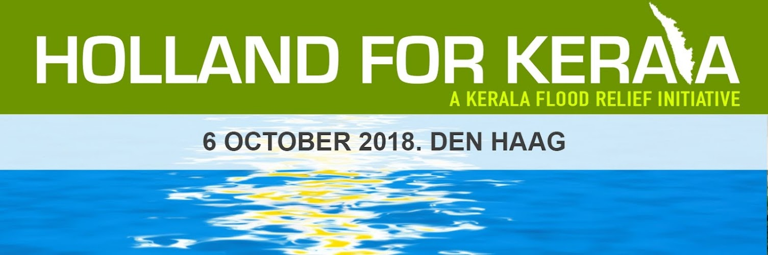 HOLLAND FOR KERALA- A FUNDRAISER EVENT TO SUPPORT KERALA FLOOD VICTIMS