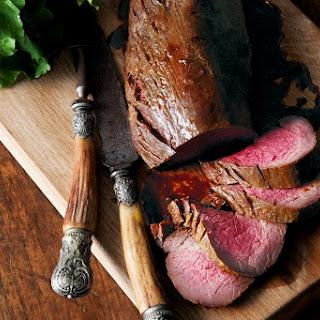 Sweet Spiced Roast Beef.
